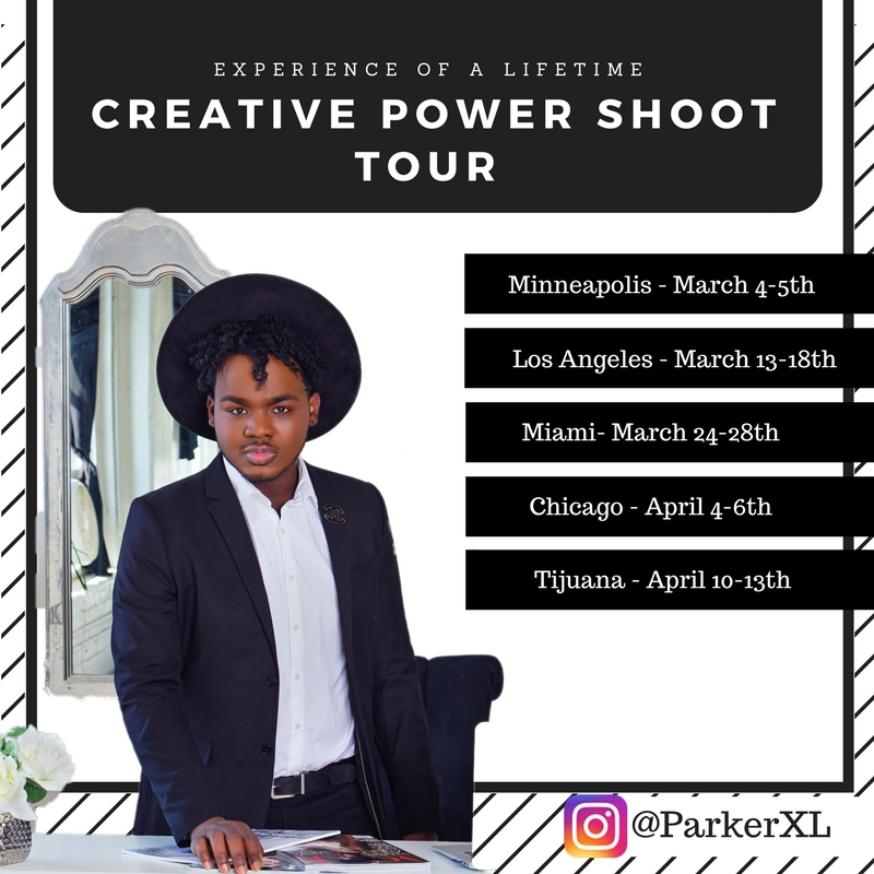 Creative power shoot tour